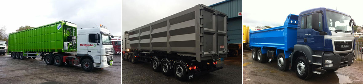 Trailers & Ridged Trailers Painting & Refurbishment