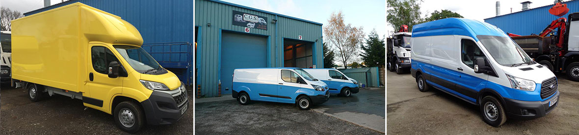 Picture Showing Van Bodywork Repair And Refurbishment